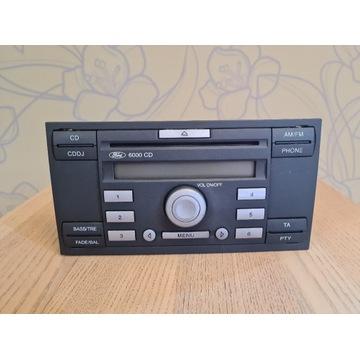 Radio Ford 6000CD z Ford Focus mk2