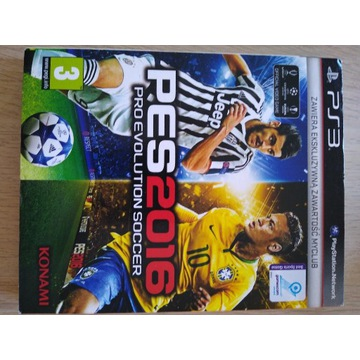 Gra PS3 PES 2016 Pro Evolution soccer