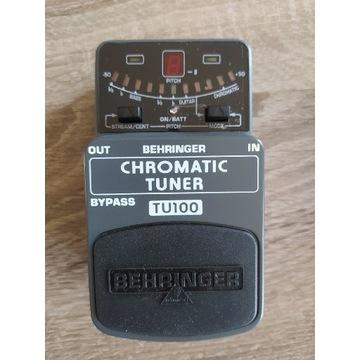 Behringer TU100 tuner chromatyczny stroik gitarowy