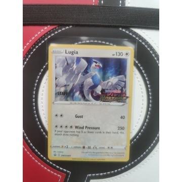 Karta pokemon Vivid Voltage Lugia STAFF swsh069