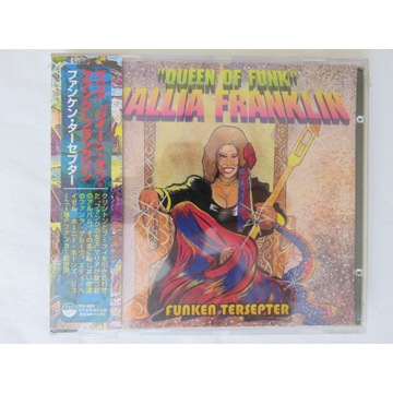 "MALLIA FRANKLIN ""QUEEN OF FUNK"" JAPAN OBI"