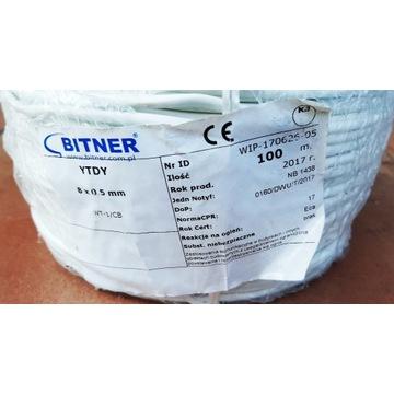 Kabel YTDY 8x0,5mm Bitner - 100m