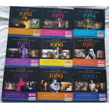 25 Lat Listy Przebojów Trójki kompletny zestaw CD