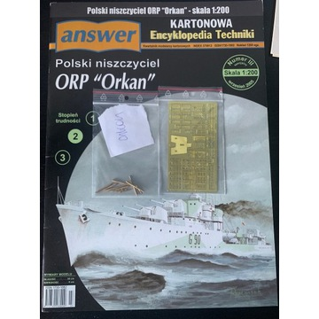 Answer ORP Orkan + lufy + blaszki - skala 1:200
