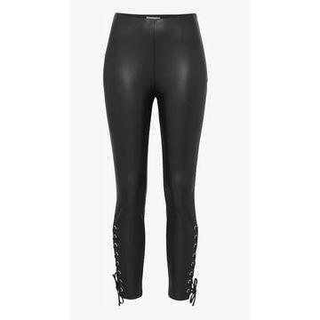 Spodnie EDITED Legginsy 'Marit' czarne rozmiar L