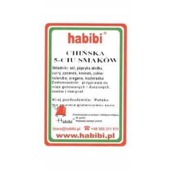 habibi PRZYPRAWA CHIŃSKA 5-CIU SMAKÓW 125g