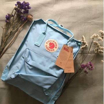 Nowy plecak kanken niebieski 16l