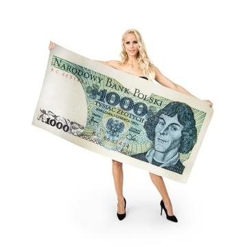 Ręcznik Tysiak 80x160cm prezent