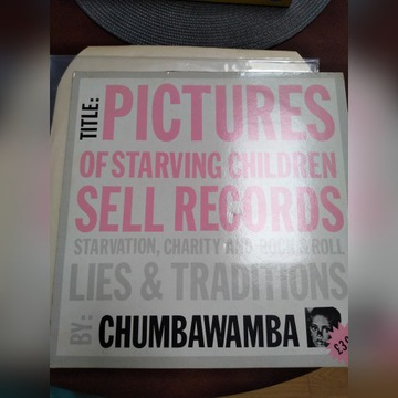 Chumbawamba - pictures of starving children