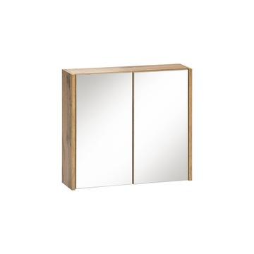 IBIZA WHITE 840 - Szafka z lustrem 60 2D - Dąb Wot