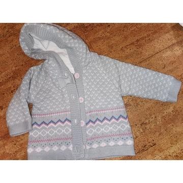 Ciepły sweterek, kurtka, plaszczyk