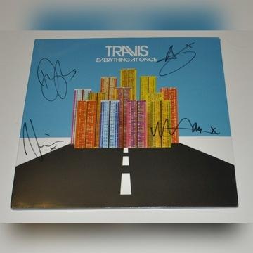 TRAVIS Everything At Once LP Winyl Autografy Bonus