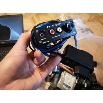 FX dac x3 karta dźwiękowa usb optyk