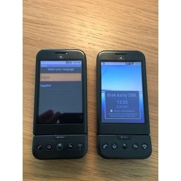 2 x HTC Dream (Era G1) pierwszy Android