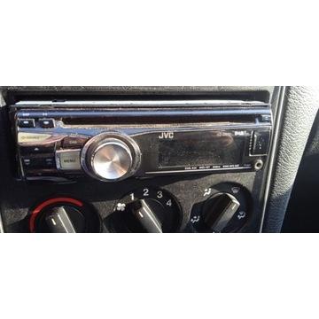 Hit cenowy.Radio samochodowe JVC na płyty CD i USB