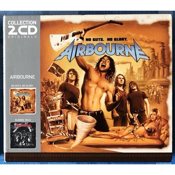 Airbourne - No Guts, No Glory - Collection 2CD Box