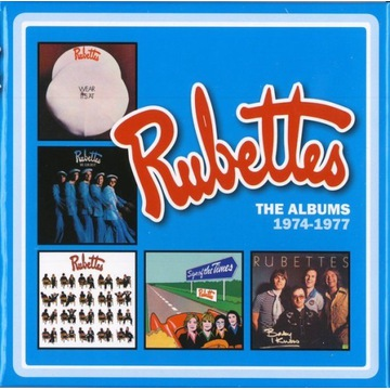The Rubettes - The Albums 1974-1977 BOX SET  5CD