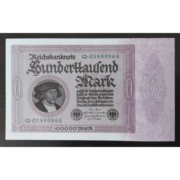 Niemcy 100000 marek 1923 r