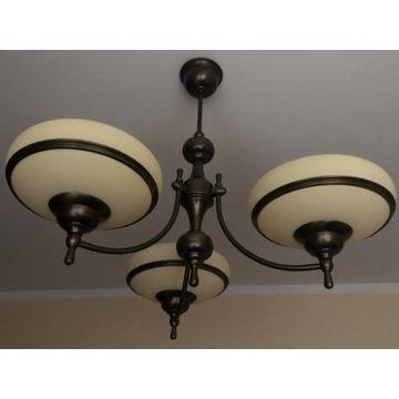 Mosiężne lampy KUTEK zestaw lub osobno