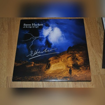 Steve Hackett At the edge of light - autograf.