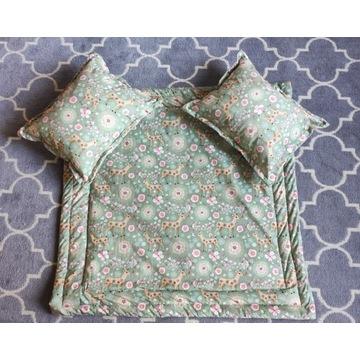 Zestaw poduszek i mata 100x100 dla dziecka