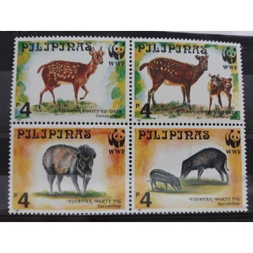 Znaczki czyste Filipiny 1997r MI2814-2817