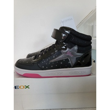 Nowe sneakersy buty wysokie dziewczęce geox 36