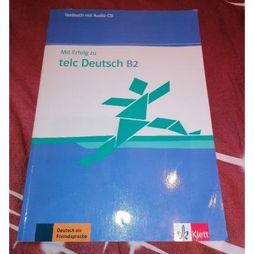 Mit erfolg zu telc Deutsch B2 Testbuch mit AudioCD