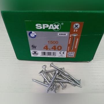 SPAX Wkręt z główką podkładkową 4x40 1500szt Z2