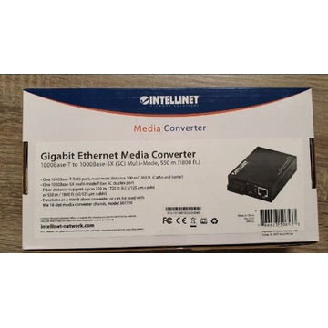 Media konwerter Intellinet 1000Base-T RJ45/1000Bas