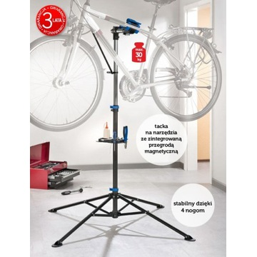 NOWY stojak rowerowy serwisowy Crivit z Lidla