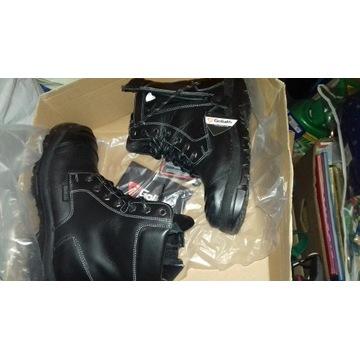 Buty skórzane wojskowe/BHP/trapery