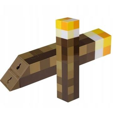 Minecraft pochodnia lampa kinkiet 3w1 dla dzieci