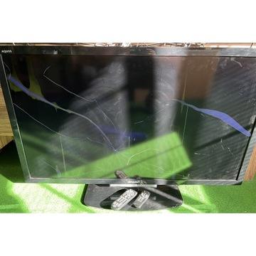 Telewizor Sharp LC-46LU630E - 2 piloty uszkodzony