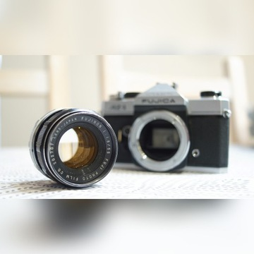 Fujica AZ-1 + Fujinon 1.8 55 mm M42