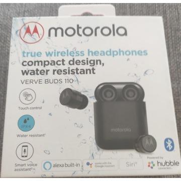 Słuchawki bluetooth Verve Buds 110 Motorola czarne