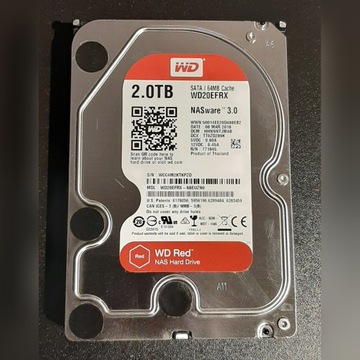 Dysk WD RED 2TB NASware 3.0