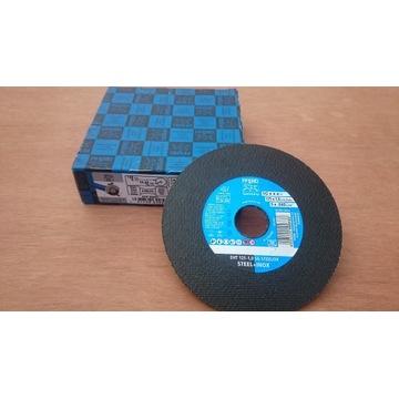 TANIO!!!TARCZA PFERD STEELOX 125-1.0 SG STAL INOX