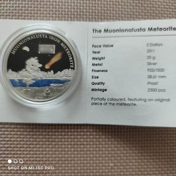 Meteoryt Muonionalusta 2011