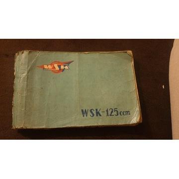 Książka ORG WSK 125 Świdnik MO6-Z katalog części