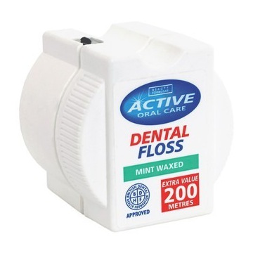 Nić dentystyczna 200m miętowa