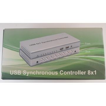 Switch KVM USB 8/1