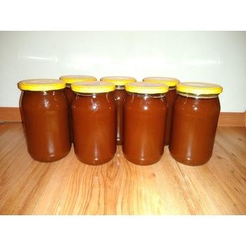 Miód Gryczany z Mazurskiej pasieki,100% naturalny!