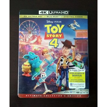 TOY STORY 4 - (4k ULTRA HD) + (BLU-RAY)