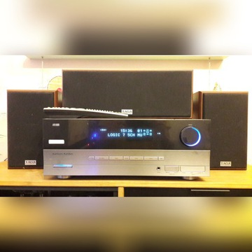 Amplituner Harman Kardon AVR 132 + głośniki TAGA