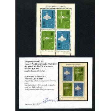 1963 Blok 40 IIx** atest Korszeń