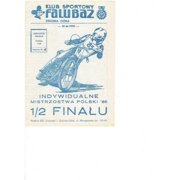 IMP 1985 r półfinał  Zielona Gora