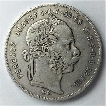 1 Forint Franciszek I 1879 Węgry