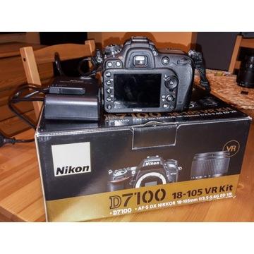 NIKON D7100 + nowa torba LowerPro