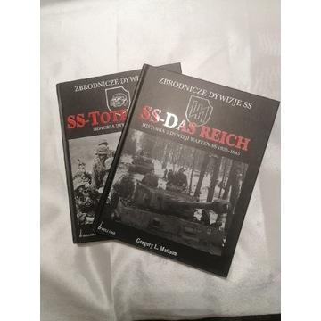 Książki z serii Zbrodnicze Dywizje SS 2 książki